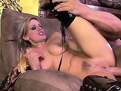 Tory Lane filming an extra pornstar Holly Wellin brutally