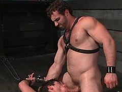 Jaxton Wheeler cums on Jett Jax