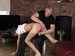 Naked men Spanking The Schoolboy Jacob Daniels