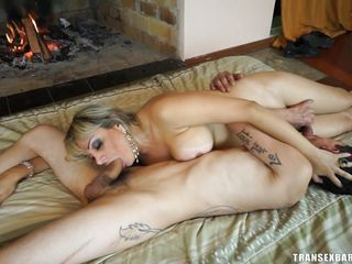 69 and a dp with a tranny whore