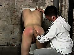Twink sex Calvin Croft might think that he\'s just stopping t