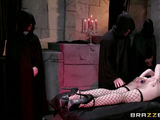 big butt mandy gazoo bonked at a ritual
