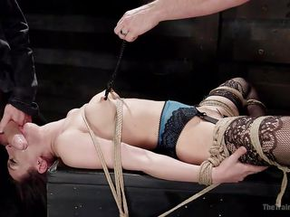 gabriella gets throated, while executor makes adjustments