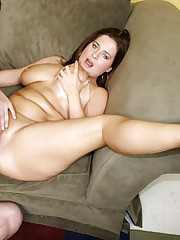 A Big Busty Babe Gets Pussy Plowed