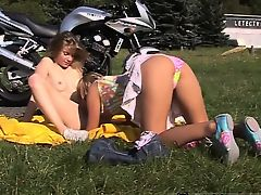 Stunning teen hd pov Juvenile lezzy biker girls