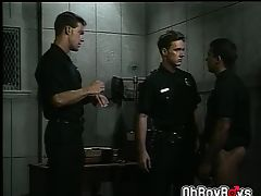 Cops threesome blowjob and anal astonishingly