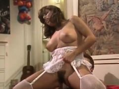 Incredible latin classic scene with Dallas Houston and Vanessa D'Oro