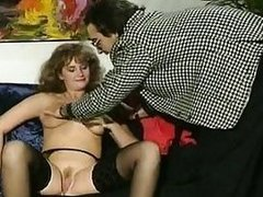 Andrea Molnar Anette Montana Dagmar Lost in vintage sex movie scene