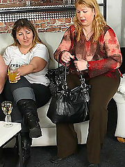 The fat girl at the party has incredible hardcore sex with the young man that loves her