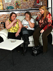 Beautiful BBW chicks at this party are sucking and fucking and the men love their bodies