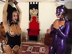 Rule female makes slave boys jerk off a unnatural girls