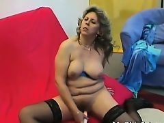 Hawt blonde MILF receives to play with a sexual act