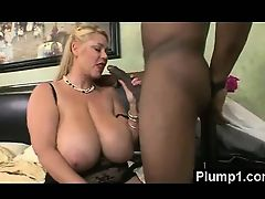 Plump Milf In Vigorous Banging