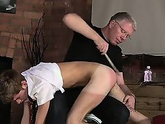 Hot twink Spanking The Schoolboy Jacob