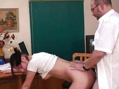 Sweet pleasuring for tutor